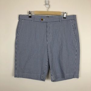 BROOKS BROTHERS SEERSUCKER CHINO SHORT MEN 38